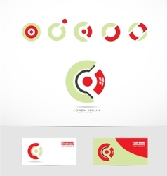 Corporate circle logo vector