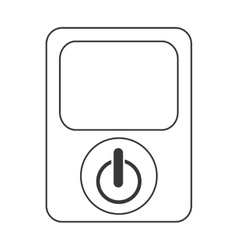 Power device button icon vector