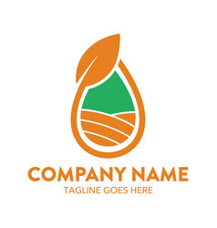 agriculture logo-11 vector image