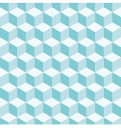 cube 3d pattern background vector image