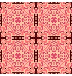 damask seamless pattern tiles vector image