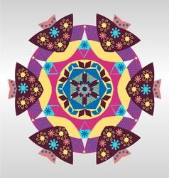 geometric pattern Colorful mandala vector image