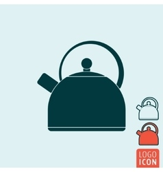 Kettle icon isolated vector image vector image