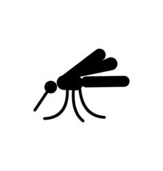 Mosquito Icon Flat vector image