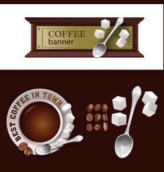 Set of banner badge sticker with icon vector
