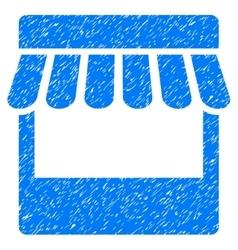 Store grainy texture icon vector