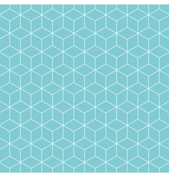 Cube pattern background vector