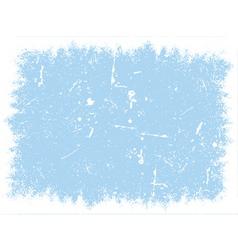 winter grunge texture vector image vector image