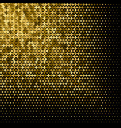 abstract goldet halftone geometric background vector image