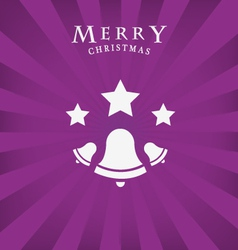Merry christmas icon vector