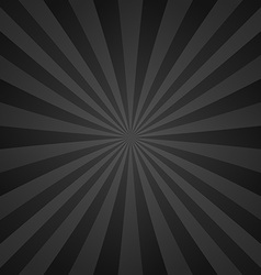 Dark grey ray background vector