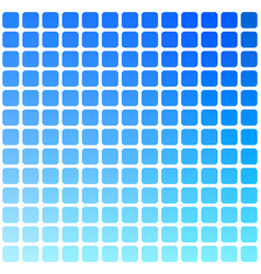 Blue green red rounded mosaic background over vector