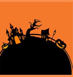 halloween background graphic resource vector image