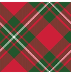 Macgregor tartan kilt fabric textile diagonal vector