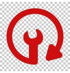Repeat service icon vector