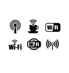 Technology wi fi vector