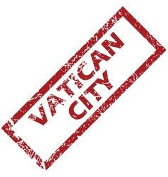 New vatican city rubber stamp vector