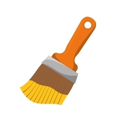 Paint brush icon tool design graphic vector