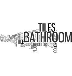 Bathroom tiles and the best bathroom design ideas vector