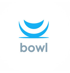 Bowl logo vector