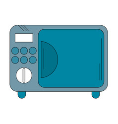 Electric oven appliance vector