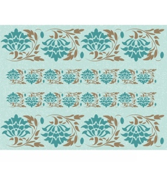 Vintage abstract floral classic pattern vector