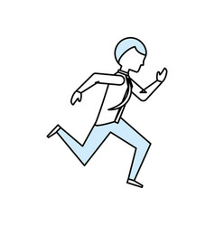 Executive businessman cartoon vector