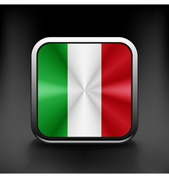 Italy icon flag national travel icon country vector