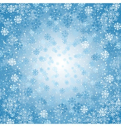 Background with snowflakes vector