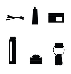Hygiene icon black vector