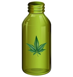 A marijuana vector