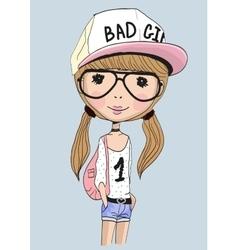 Bad girl vector