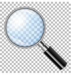 Magnifying glass loupe vector