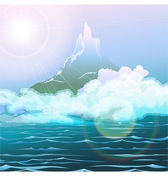 The seascape vector image vector image