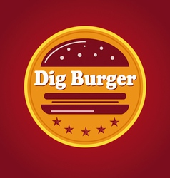 Company logo for food and fast food vector