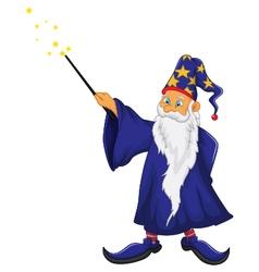 Funny santa claus cartoon vector