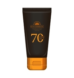 Sun cream professional series vector