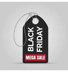 Black friday sale badge vector