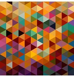Vintage triangles seamless pattern background vector
