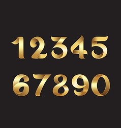 Golden number vector