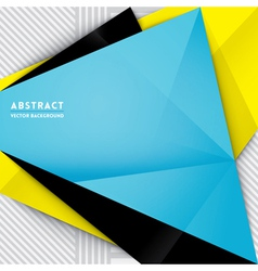 Abstract Triangle Shape Background vector image vector image