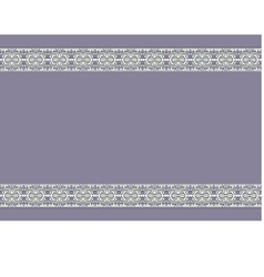 Vintage background with ornaments on the edges vector
