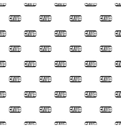Portable video game console pattern simple style vector