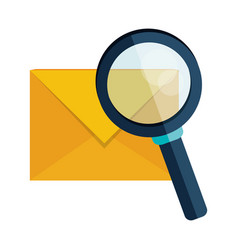 Email envelope message search vector