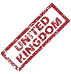 New united kingdom rubber stamp vector
