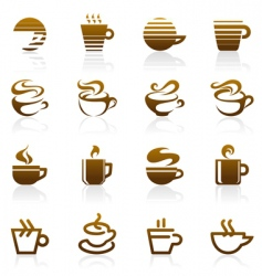 coffee logo vector image