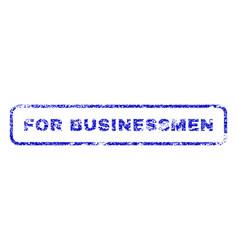 For businessmen rubber stamp vector