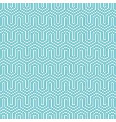 Hexagon pattern background vector