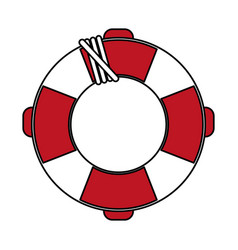 lifesaver vector image