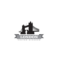 London United Kingdom city symbol vector image vector image